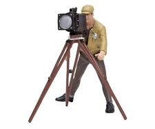 Schuco Vintage Classic F1 Trackside Cameraman - 1/18 Scale Die-cast Figurine