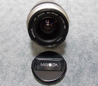 MINOLTA MAXXUM AF ZOOM 35-80 1:4(22)-5.6 LENS FOR MAXXUM CAMERA WITH CAPS