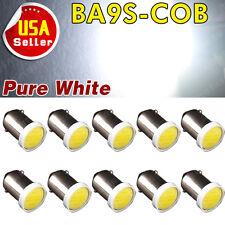 10 X White T11 BA9S COB Chip High Power 2W LED Bulb Lamp DC12V T4W 3886X H6W 363
