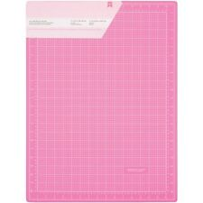 American Crafts Pink Double-Sided Self-Healing Cutting Mat - 192347