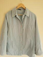 Concept UK Blue Polyester Coat Size UK 16
