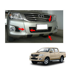 11 2012 2013 14 Front Bumper Guard Cover Painted 1 Pc On Toyota Hilux Vigo Champ