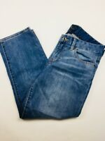 Lucky Brand® Womens Jeans Sweet Jean Crop Size 8 / 29 Medium Wash Flap Pocket