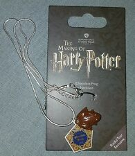Warner Bros Harry Potter London Tour EXCLUSIVE Chocolate frog necklace