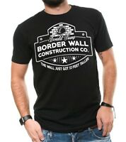 Donald Trump Border Wall Construction Company Political Trump T-Shirt Trump 2024