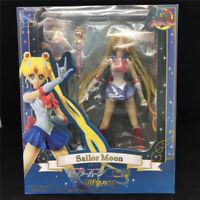 S.H.Figuarts Sailor Moon Tsukino Usagi Pretty Guardian 20th PVC Action Figure IB