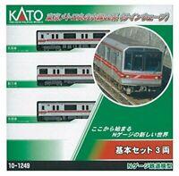 KATO N gauge Tokyo Metro Marunouchi Line 02 system sign wave basic 3-Car Set 10
