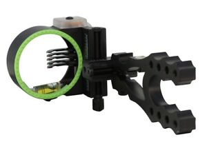 Black Gold Widow Maker Right Hand 5 Pin Bow Hunting Sight