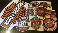 Harley Davidson Stickers Decals Vinyl. Sticker bundle