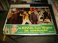 IN 027 For Las Vegas IN Knickers Fotobusta Original 1964 Fernandel