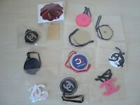Authentic  CHANEL  charms  set plastic  metal   collectible  rare vip gift