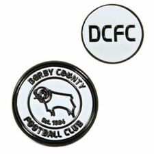 Derby County Football Club Crest Double Sided Golf Ball Marker with Free UK P&P