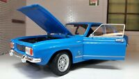 Ford Capri Mk1 1.3 1.6 V6 1969 1:24 ECHELLE BLEU WELLY détaillé