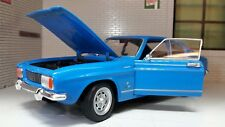 Ford Capri Mk1 1.3 1.6 V6 1969 1:24 Scale Blue Welly Detailed Diecast Model Car