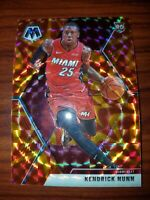 2019-20 Kendrick Nunn Panini Mosaic RC Reactive Orange Prism # 234 MIAMI HEAT