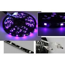 LED-Stripe, Blacklight, 60 LED, 200 cm Lichter Streifen Band Leiste Lichterkette