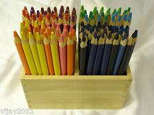 24 Triangle Grip and or Hexagonal  grip Jumbo Kids Coloured Pencils assorted