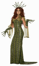 Medusa Snake Skin Ball Dress Adult Costume