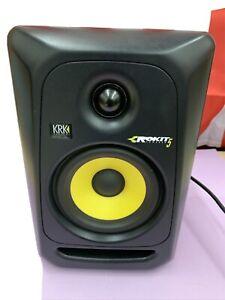 One KRK Rokit 5 Powered Speaker, Works 100%