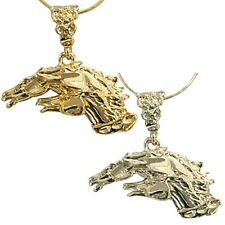 Exselle Drinkers of the Wind Horses Pendant - Gold