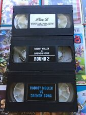 Plan B Virtual Reality Authentic 90s Skate Vhs Rodney Mullen V Daewon Song 1 & 2