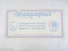 Campagnolo Decal 1984 LA Olympics ORIGINAL Dealer Window Shop Sticker NOS