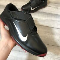 NIKE TW '17 BLACK/METALLIC SILVER GOLF SHOE SIZE UK13/US14/EUR48.5 880955-001