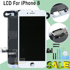 Full LCD For iPhone 8 4.7'' Touch Screen Replacement Digitizer Camera White UK