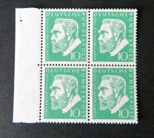 Miller 1955, Mi.Nr. 209, postfrischer 4er-Block vom linken Bogenrand (P1859)