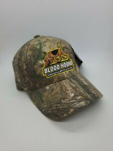 """Realtree Xtra Camo Camouflage Blood Hound Hunting Hat Ball Cap NWT """"Beyond 811"""""""