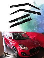 For Suzuki SWIFT 17-18 Deflector Window Visors Guard Vent Weather Shield