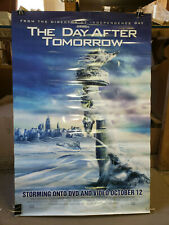The Day after Tomorrow 2004 27x40 rolled dvd promotional poster