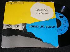 West Coast JAZZ 7 inch EP Rarity SESAC Subtle Impressions of Jack Quigley 1950s