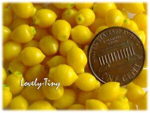 Wholesale miniature 100 pcs.Fresh Lemon