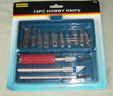 13 PIECE HOBBY KNIFE SET
