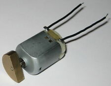 Compact Vibrator / Massager DC Motor - 6 VDC - 3000 RPM - Large Offset Weight