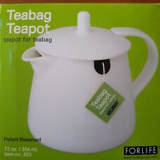 FORLIFE One Person Teabag Teapot Black Graphite 12 oz