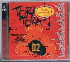 TORA TORA 2002 AFTERHOURS BUGO  DELTA V CRISTINA DONA LA CRUS 2 CD SIGILLATO!!!