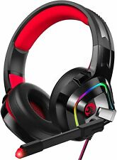 Ziumier Gaming Headset Ps4 Headset, Xbox One Headset with Noise Canceling Mic an