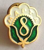 Mapta 8 Pin Badge Rare Vintage Advertising (F10)
