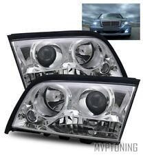For 94-00 Mercedes Benz W202 C220/C230/C280/C36/C43 Projector Headlights (4 Pin)