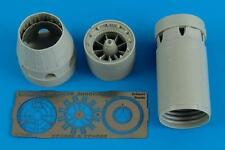 AIRES 4562 Exhaust Nozzles (Closed) for Eduard Kit Mirage 2000C/B/D/N in 1:48