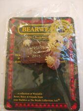 Boyds Bearwear Resin Pin Bon-Bon Sweetbeary, F.o.B. 2005 Fast Shipping