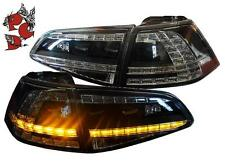 RÜCKLEUCHTEN VW GOLF 7 VII 13+ SCHWARZ LED HECKLEUCHTEN LINKS RECHTS RÜCKLICHTER
