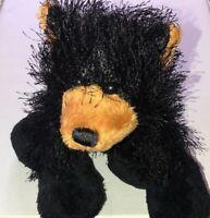 GANZ Webkinz Lil' Kinz Black Bear Plush Animal HS004