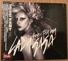 SEALED Lady Gaga - Born This Way Taiwanese Cd Single + Obi Rare