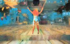 Original 5th Fifth Element Leeloo Jump Fantasy Movie Landscape Painting Wall Art