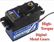 DIGITAL WATERPROOF MG SERVO for 1/10 Truck Car Buggy SC Truggy Crawler Brushless