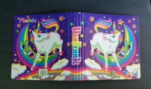 Fantastic World Lisa Frank Markie Unicorn Moon Hardcover 3 Ring Binder Notebook
