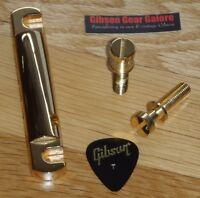 Gibson Les Paul Tailpiece Gold Stop Guitar Parts Custom R9 ES R8 SG Heavy Line